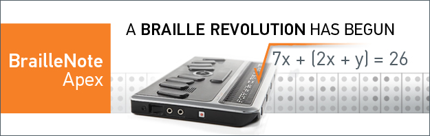 A Braille Revolution has begun