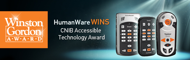 Humanware Wins Cnib Accessible Technology Award